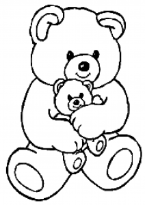 Coloring page bears to download